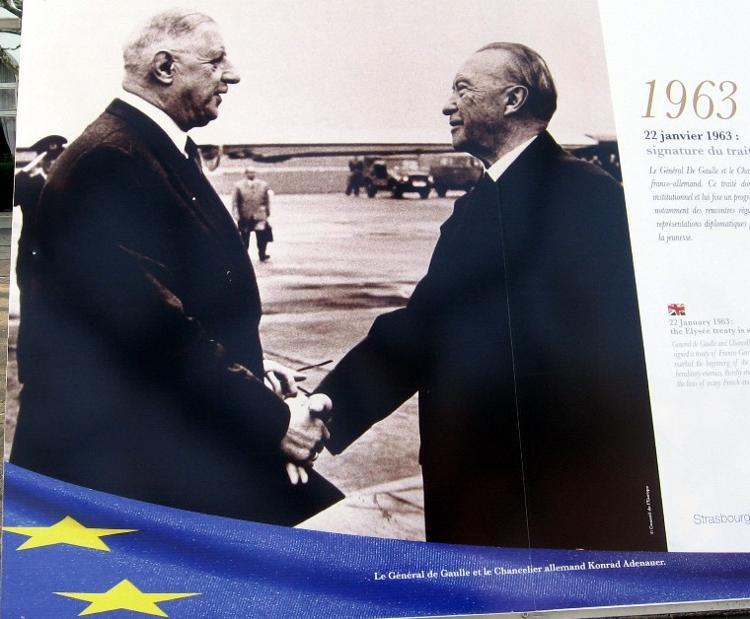 Journée de l'amitié franco-allemande, aujourd'hui 22 janvier.